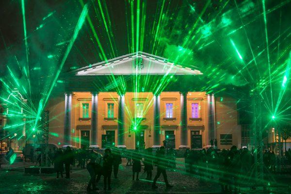 Žiema neišgąsdino: pirmajame Vilniaus šviesų festivalyje – per 130 tūkst. lankytojų