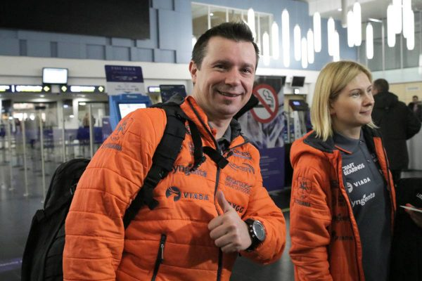 Į 10-ą Dakarą išvykstančio A. Juknevičiaus tikslas nesikeičia: kitaip nėra ko važiuoti