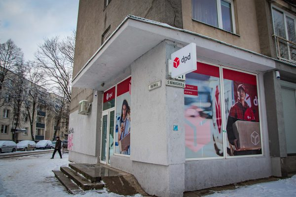 """""""DPD Lietuva"""" atidarė mikrodepą: ruošiasi laikams, kai miesto centre nebeliks automobilių"""