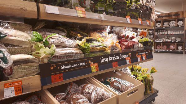 """""""Maximos"""" parduotuvėse – specialus dėmesys savo krašto duonai"""