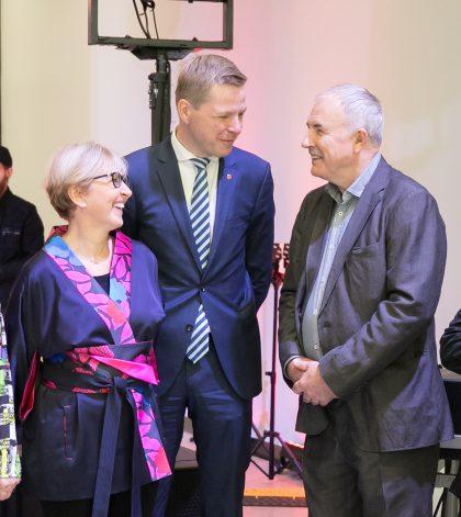 Pirmąkart Vilniaus garbės piliečių vardas suteiktas šeimai