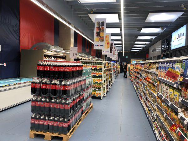 """Vilniaus """"Akropolyje"""" laikinai veiks nedidelio formato """"Maximos"""" parduotuvė"""
