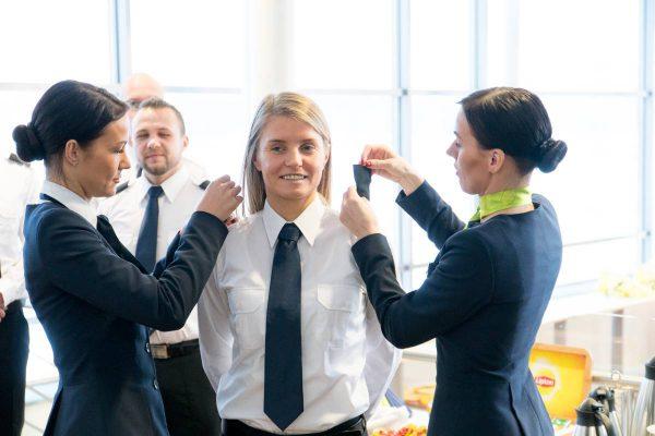 """""""airBaltic"""" Pilotų akademijoje pradeda mokytis trečioji studentų grupė"""