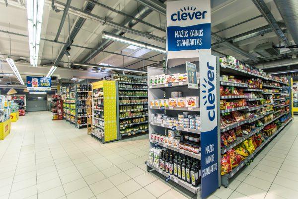 """IKI parduotuvių lentynose – naujas privatus prekių ženklas """"Clever"""""""