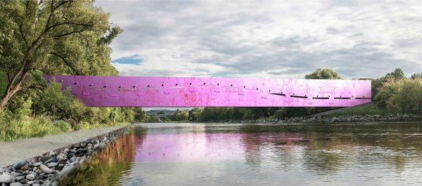 Pamatyk, kokius tiltus per Nerį sostinėje pasiūlė architektai