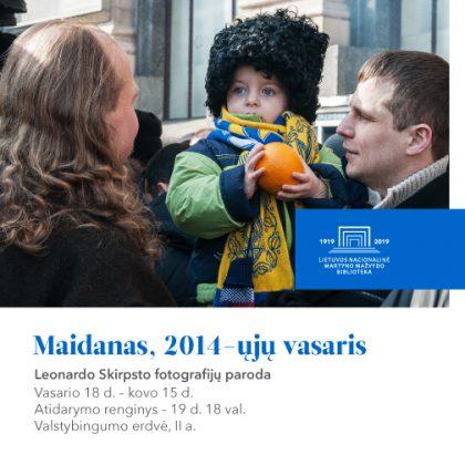 """Vasario 18 d. – kovo 15 d.: fotografijų paroda """"Maidanas, 2014-ųjų vasaris"""""""