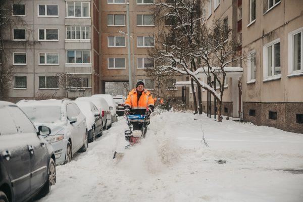 Ledas daugiabučių gyventojų nebevargins