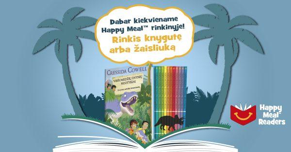 """""""McDonald's"""" knygų projektas """"Happy Readers"""" skatins vaikus skaityti"""