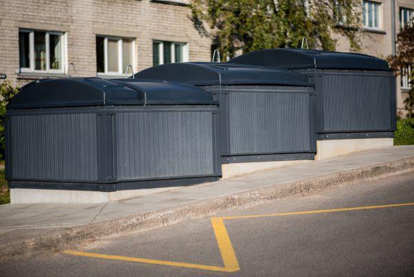 Pažangiausi sprendimai Kėdainiams: suomiška atliekų surinkimo sistema ir virš požeminių komunikacijų