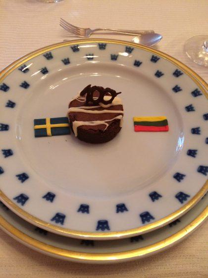 Švedija drauge žengia į antrąjį Lietuvos valstybingumo šimtmetį