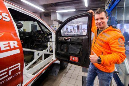 Antanas Juknevičius sieks įsigyti konkurencingesnį automobilį: privalome eiti į priekį