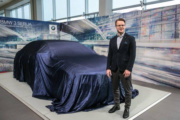 Naujasis 3 serijos BMW oficialiai pristatytas Lietuvoje