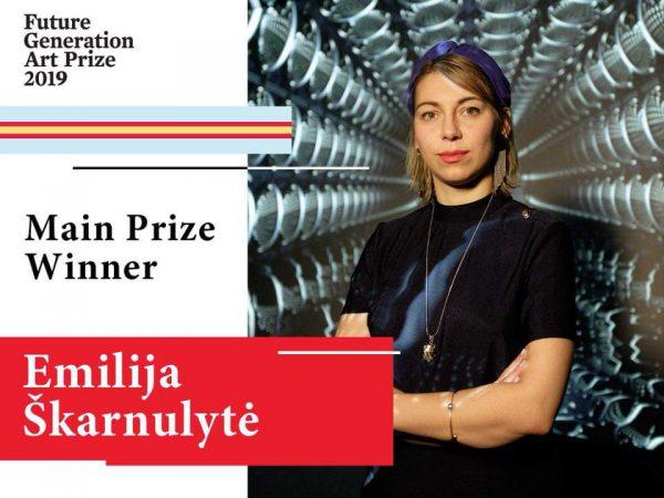 "Emilija Škarnulytė – ""Future Generation Art Prize 2019"" laimėtoja"