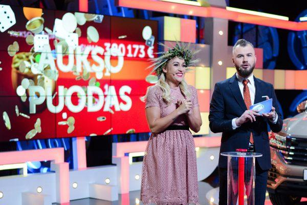 Kas laimėjo Aukso puodą su daugiau nei 380 000 Eur?