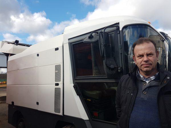 Olandijos partneriai atgabeno vienintelę tokią Lietuvoje šlavimo mašiną