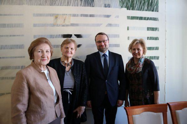 Kultūros ministras su Lietuvos muzikų rėmimo fondo atstovėmis aptarė aktualiausius klausimus