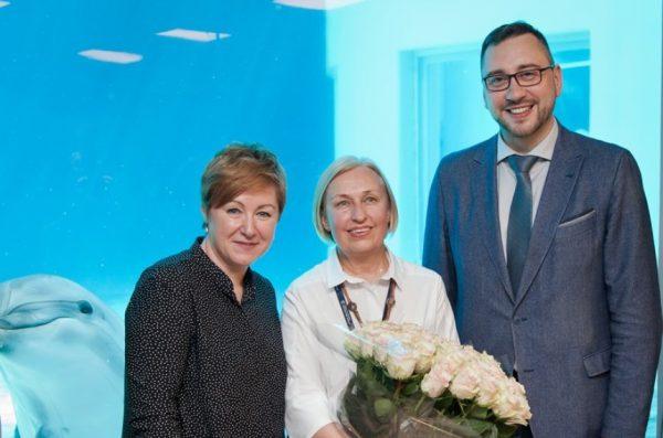 Lietuvos jūrų muziejui toliau vadovauja Olga Žalienė
