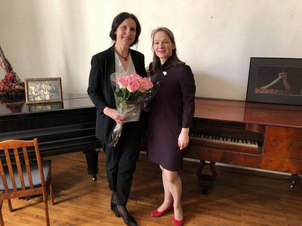 Darbą pradeda naujoji Lietuvos teatro, muzikos ir kino muziejaus direktorė