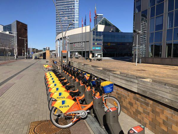 Sostinė septintojo dviračių sezono pradžią pasitinka su naujove