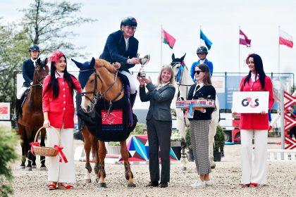Didžiausiose žirginio sporto varžybose Baltijos šalyse paaiškėjo VMG taurės laimėtojai