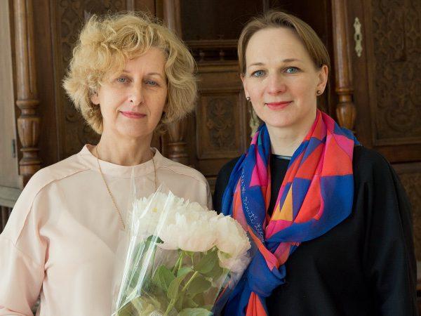 Darbą pradeda Lietuvos liaudies buities muziejaus direktorė Gita Šapranauskaitė