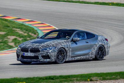 """Praskleistas """"BMW M8"""" paslapties šydas: bus diegiamos ypatingos technologijos"""