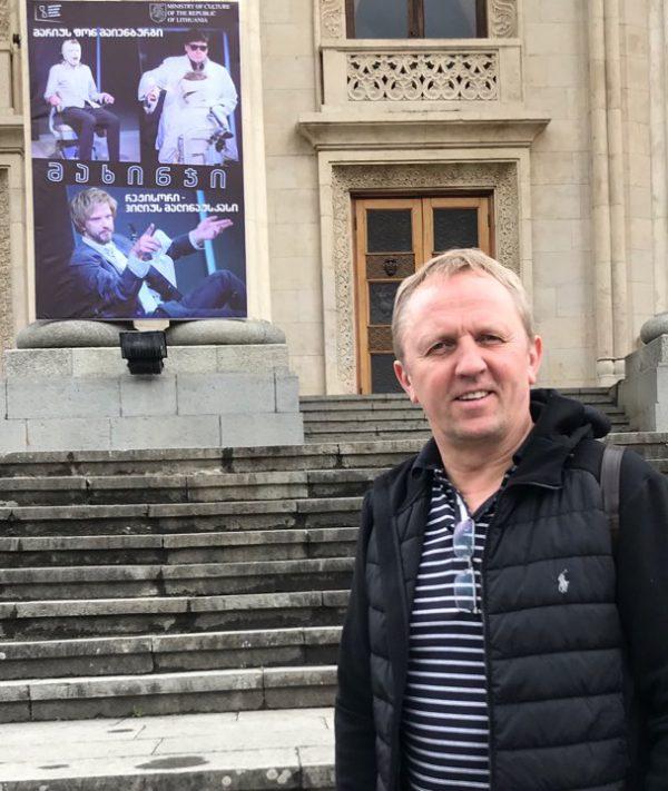 Kauno teatro gastrolių Sakartvele vos nenutraukė ūmi aktoriaus liga