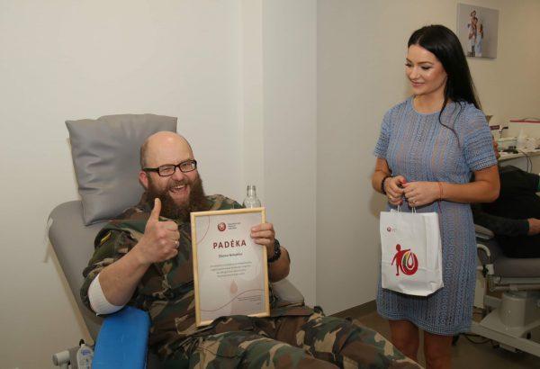Modernaus Nacionalinio kraujo centro padalinio atidarymas pažymėtas 100-ąja kauniečio donoryste