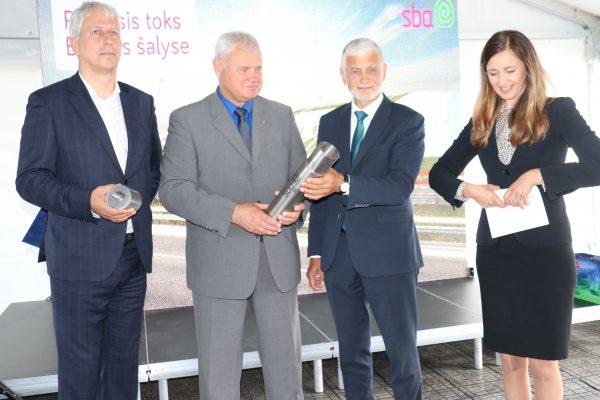 SBA grupės Technologijų ir inovacijų parke įkasta laiko kapsulė ateities kartoms