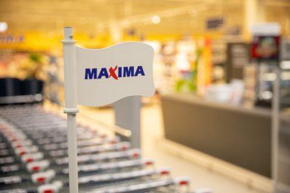 """""""Maxima"""" sako """"ačiū"""" Anykščiams ir atveža 78 tonas prekių po 1 eurą"""