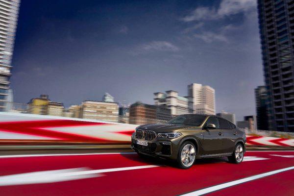 """Pristatytas trečiosios kartos """"BMW X6"""""""
