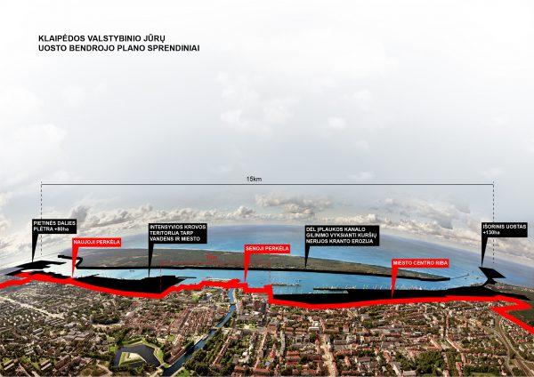 Architektų rūmai: Klaipėdos uosto bendrasis planas kelia rimtų abejonių