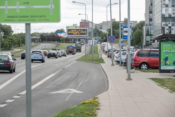 Nauja jungtis Vilniaus dviračių takų tinkle – Pilaitėje tiesiamas dviračių takas