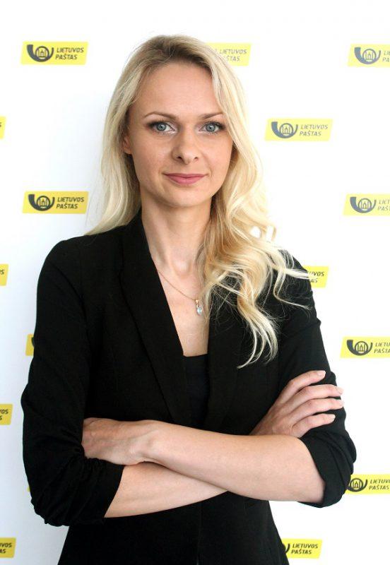 Lietuvos pašto Pirkimų skyriui vadovauja Viktorija Norušytė