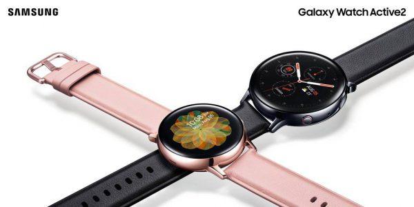 """Pristatytas """"Galaxy Watch Active2"""" su elektronine SIM kortele: tarsi išmanusis telefonas ant riešo"""