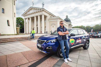 Vitoldas Milius Baltijos kelią pažymės kelione automobiliu be sustojimo degalinėje