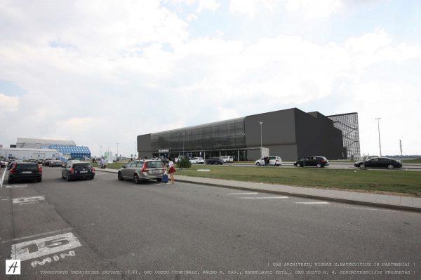 Kauno oro uosto architektas G. Natkevičius: visi planuojami pokyčiai nukreipti į keleivių komfortą