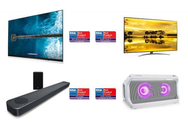 LG televizorių ir garso prietaisų, turinčių AI, paskutinės naujovės
