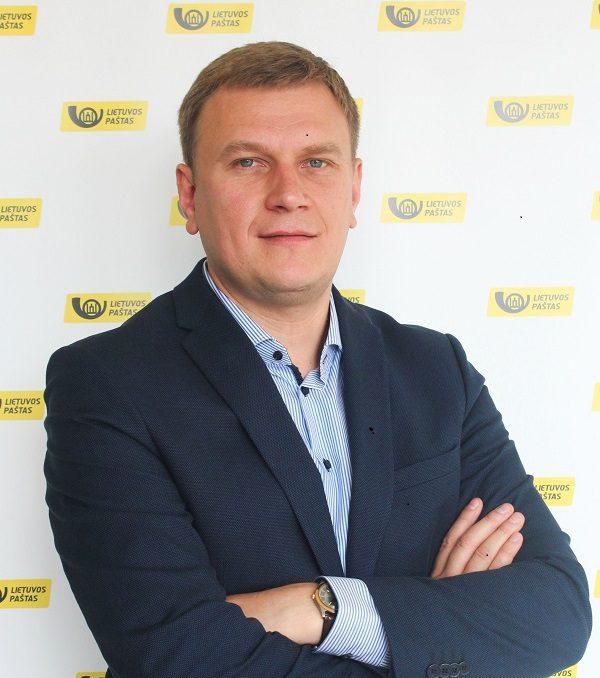 Lietuvos pašto Verslo klientų departamentui vadovauja Livijus Piročkinas