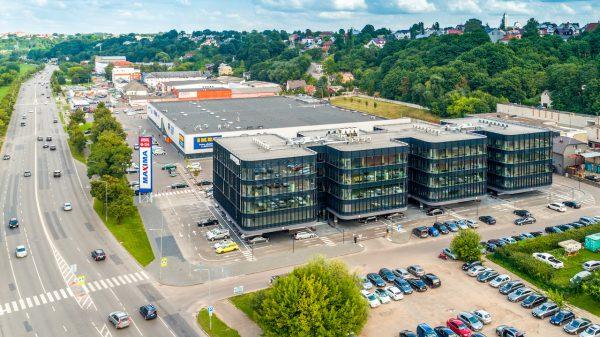 """""""EfTEN Real Estate Fund 4"""" įsigijo prekybos ir verslo centrus Kaune"""