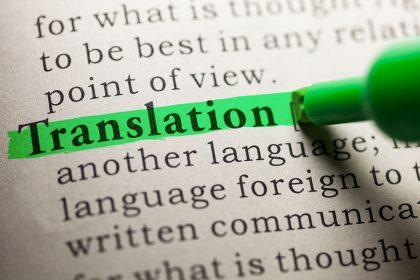 Vertimų biuras ir jo pasirinkimas