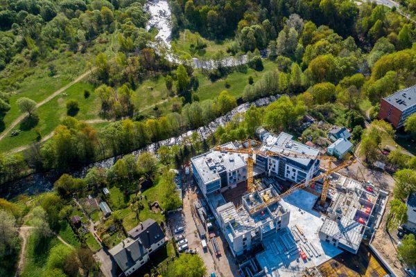 MERKO pirmojo pusmečio apyvarta Lietuvoje išaugo 34 proc., parduota 160 butų