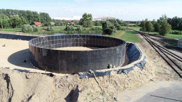 """""""Agrochema"""" investuoja 1,3 mln. eurų į modernių trąšų talpyklų įrengimą"""