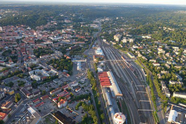 Paaiškėjo, kas ieškos geriausių idėjų Vilniaus geležinkelio stoties teritorijos pertvarkai