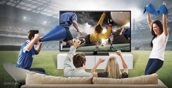 Didelis televizorius: kodėl sporto rungtynės stebėti namuose patiks labiau, nei arenoje
