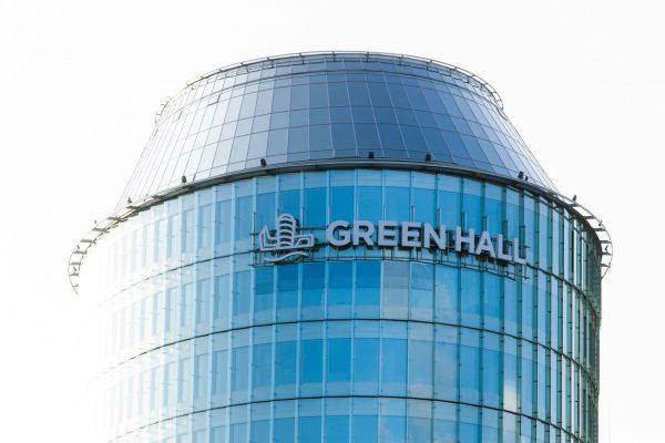 """Verslo centras """"Green Hall"""" pildosi nuomininkais: sukirsta rankomis su """"Grant Thornton Baltic"""""""