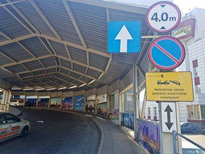 Vilniaus oro uostas tobulina eismo srautų valdymą: nakties metu laikinai uždaromas išvykimo pandusas