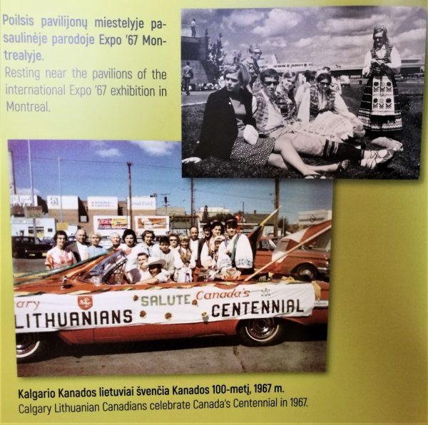 Lietuvos ir Kanados krepšinio varžybų dieną – Kanados lietuvių bendruomenei skirta paroda