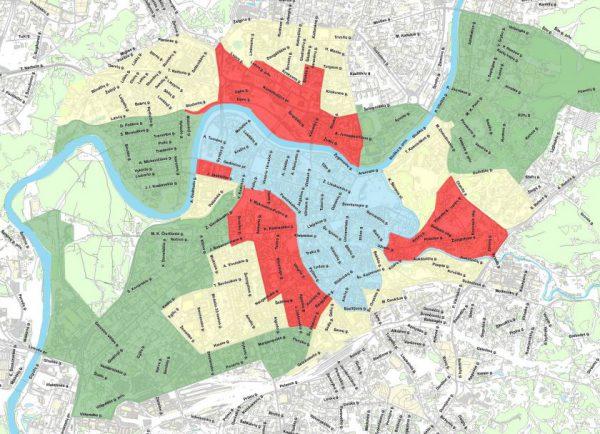 Patvirtinta – Vilniuje nuo kitų metų keičiamos rinkliavos zonų ribos