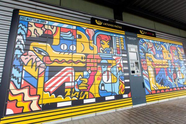 A. Širin meninis darbas ant LP EXPRESS terminalų atskleidžia žmonijos dvilypumą